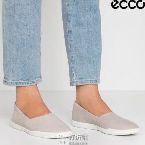 ECCO 爱步 Simpil简约系列 一脚套女式单鞋休闲鞋 35码3.1折$40.05 海淘转运到手约¥376 天猫¥862