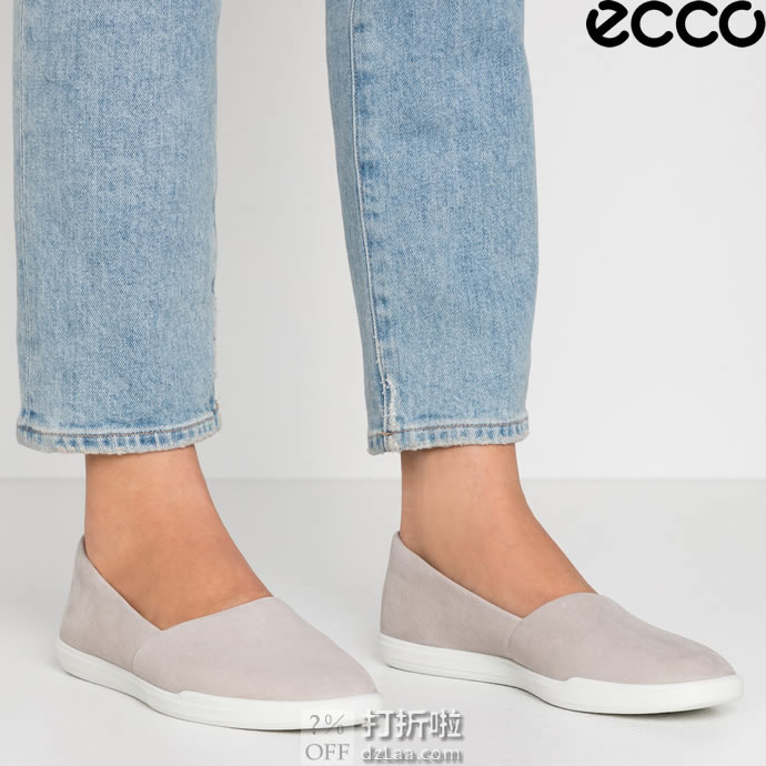 ECCO 爱步 Simpil简约系列 一脚套女式单鞋休闲鞋 35码3.1折$40.05 海淘转运到手约¥373 天猫¥862