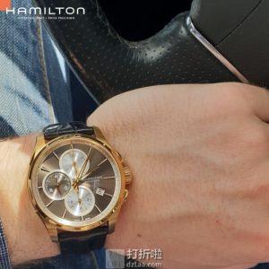 降$67 Hamilton 汉密尔顿 Jazzmaster 爵士大师系列 H32546781 男式机械表 优惠码折后$682史低 海淘转运关税补贴到手约¥4944