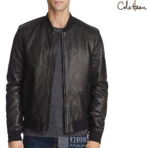 Cole Haan 可汗 男式皮夹克 L码3.2折$189.11 海淘转运到手¥1460