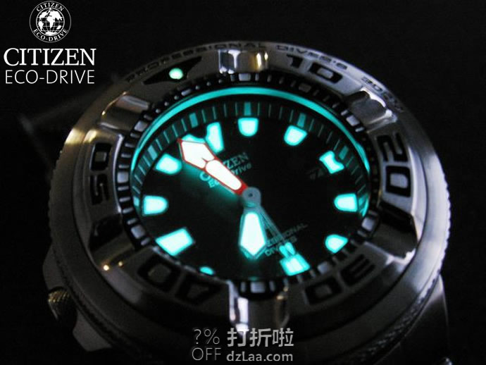 CITIZEN 西铁城 BJ8050-08E 光动能 专业潜水男表 镇店之宝¥1172.82