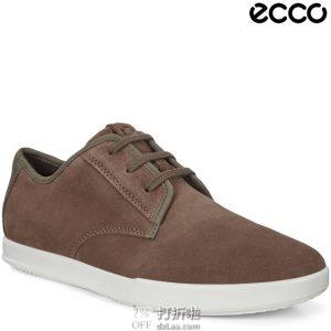 ECCO 爱步 Collin 2.0 Simple 男式系带休闲鞋 3.5折$48.74 海淘转运到手¥435