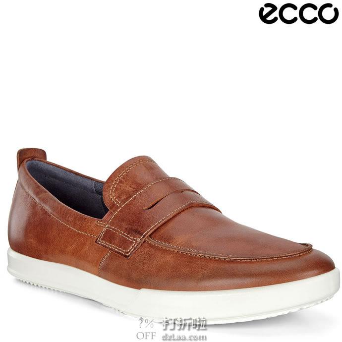 ECCO 爱步 Cathum 一脚套 男式乐福鞋 41码5.9折$59.27海淘转运到手约¥480