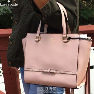 Kate Spade 凯特丝蓓 Laurel Way Jeweled 女式手提包 挎包 2.9折$111.83 两色可选 海淘转运到手约¥851