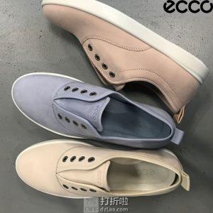 ECCO 爱步 Barentz 一脚套女式休闲鞋 5.6折$55.98 海淘转运到手¥485