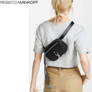 降14刀 Rebecca Minkoff 瑞贝卡·明可弗 Blythe系列 女式腰包 挎包 3.4折$66.38 海淘转运到手约¥494 天猫¥1289