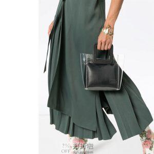 STAUD Shirley Mini 双层透明 女式果冻手提包 子母包 下单3折后¥599.7