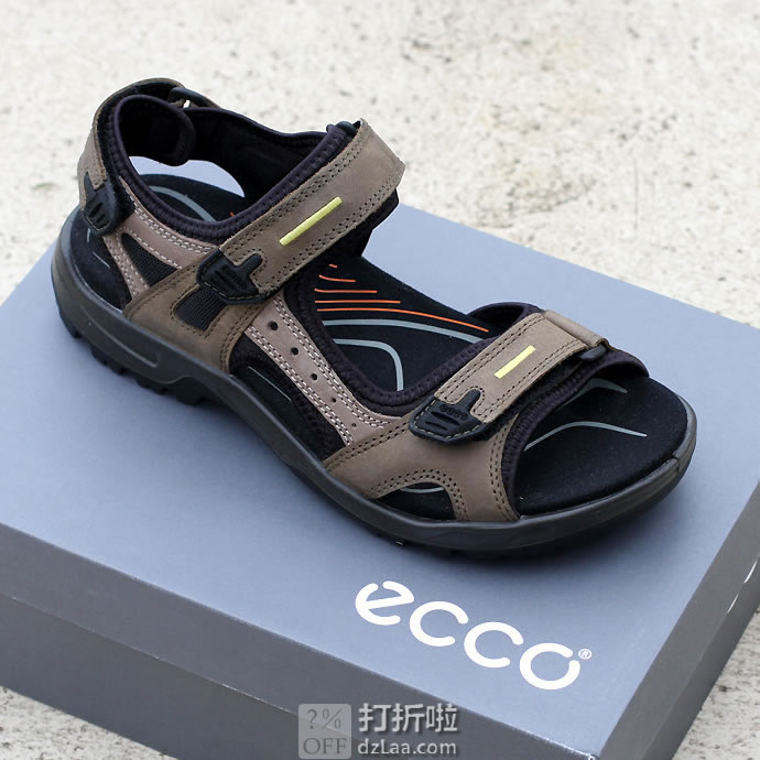 ECCO 爱步 Yucatan 男式凉鞋 41码3.9折$57.77 海淘转运到手¥464