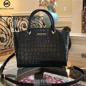 Michael Kors 迈克·科尔斯 ELLIS系列 压花版 大号女式手提包 2.6折$125 海淘转运到手约¥965