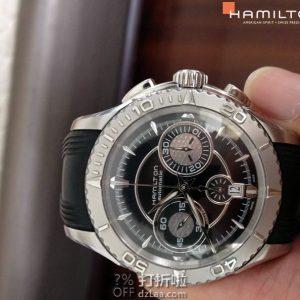 HAMILTON 汉密尔顿 Seaview 海洋系列 H37616331 男式自动机械手表 优惠码折$699 海淘转运关税补贴到手约¥5063