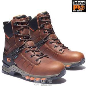 Timberland PRO 添柏岚 Hypercharge 8寸 防水男式工装靴 41加宽码3.7折$58.59 海淘转运到手约¥560
