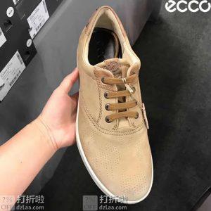 ECCO 爱步 Collin 2.0 CVO 男式系带休闲鞋 39码2.7折$40.48 海淘转运到手¥373