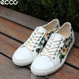 Prime会员福利 金盒特价 ECCO 爱步 SOFT 7 柔酷7号 女式休闲鞋 38码4.3折$63.99 海淘转运到手约¥521