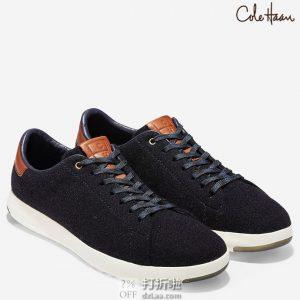 Cole Haan 可汗 Grandpro 羊毛鞋面 男式板鞋 41码3.2折$41.38 海淘转运到手约¥379