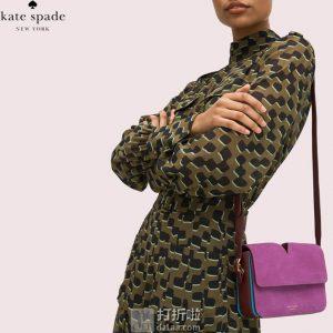 Kate Spade 凯特丝蓓 Mystery Suede 女式小号单肩包 海淘免运费直邮到手¥1083.6