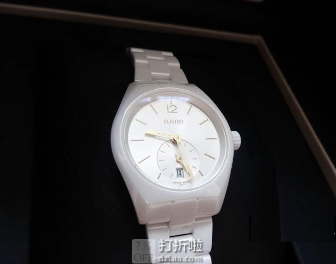 RADO 雷达表 True Specchio系列 R27085012 女式陶瓷手表 优惠码折后$339.48 海淘转运关税补贴到手约¥2519
