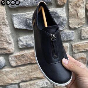 ECCO 爱步 Soft 7 Zip Ii 柔酷7号 拉链版 休闲女鞋 38码4.2折$49.95海淘转运到手约¥436