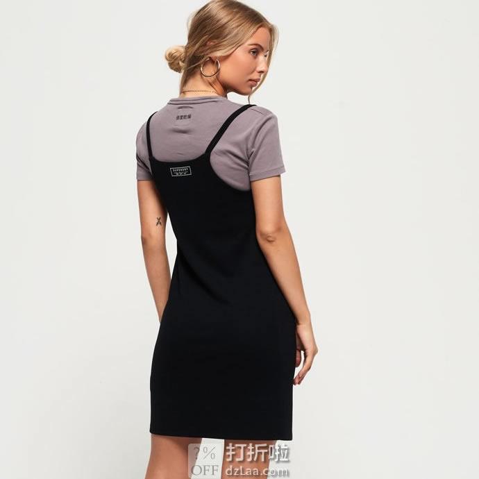 Superdry 极度干燥 CAMI 女式T恤连衣裙 S码2.1折.88 海淘转运到手¥148