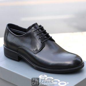 ECCO 爱步 Harold 哈罗德 男式正装鞋 系带皮鞋 44码4.2折$63.7 海淘转运到手约¥534