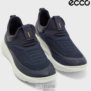 ECCO 爱步 St.1 Lite 适动轻巧 一脚套 男式板鞋 休闲鞋 3.7折$59.1起 海淘转运到手约¥502