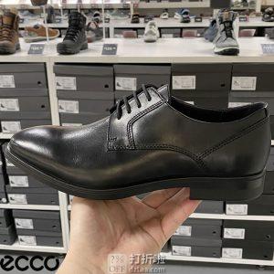 ECCO 爱步 Queenstown 男式系带正装鞋 44码4.7折$47 海淘转运到手¥419