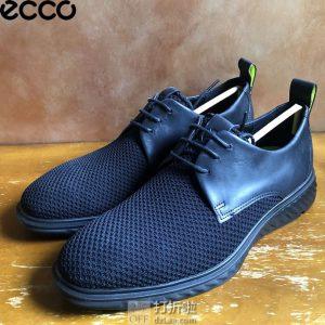 ECCO 爱步 ST.1 Hybrid Lite 适动混合轻巧系列 男式牛津鞋 46码3.2折$55.23 海淘转运到手约¥475