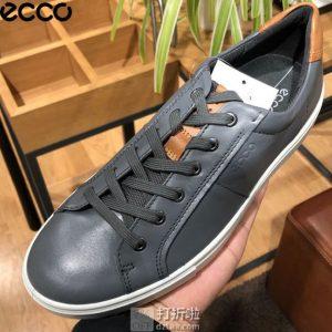 ECCO 爱步 Kyle 凯尔系列 经典款 男式板鞋 休闲鞋 44码4.3折$42.51 海淘转运到手约¥371 天猫¥1116