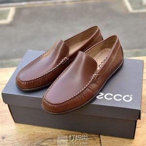 ECCO 爱步 经典 Moc 2.0 莫克2.0 一脚套 男式乐福鞋 42码4.3折$68.75 海淘转运到手约¥541