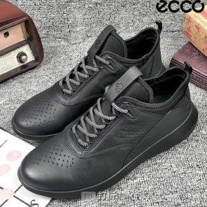 ECCO 爱步 Scinapse 赛速系列 牦牛皮 女式系带高帮休闲鞋 36码4.1折$73.53 海淘转运到手约¥602