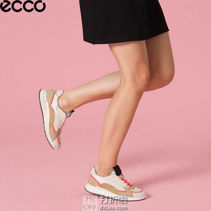 ECCO 爱步 ST.1 适动系列 撞色 运动女鞋 休闲鞋 37码3.2折$58.11 海淘转运到手约¥495