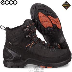 ECCO 爱步 Biom Terrain自然律动系列 GTX防水 女式户外短靴 37码4.4折$87.88 海淘转运到手约¥700
