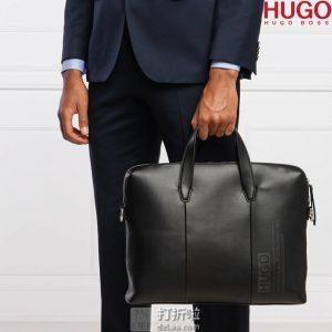 HUGO Hugo Boss 雨果·博斯 Tycoon_S 人造革 男式公文包 4折$140.82 海淘转运到手约¥1051