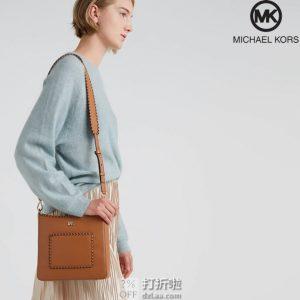 MICHAEL Kors 迈克·科尔斯 Gloria系列 编织宽肩带 女式单肩包 3.5折$98 海淘转运到手约¥714