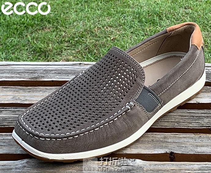 ECCO 爱步 Reciprico 莫克系列 打孔版 一脚套 男式莫卡辛鞋 驾车鞋 43码4.3折$68.44 海淘转运到手¥560