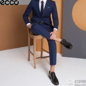 ECCO 爱步 Lisbon 里斯 男式牛津鞋 正装鞋 45码4.1折$68.65 海淘转运到手约¥560