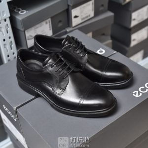 ECCO 爱步 Lisbon 里斯 男式系带正装鞋 3.8折$64.19起 海淘转运到手约¥528