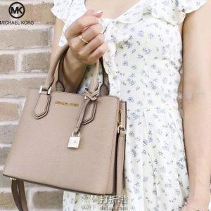 Michael Kors 迈克·科尔斯 Adele 中号 女式手提包 3.8折$125 海淘转运到手约¥913