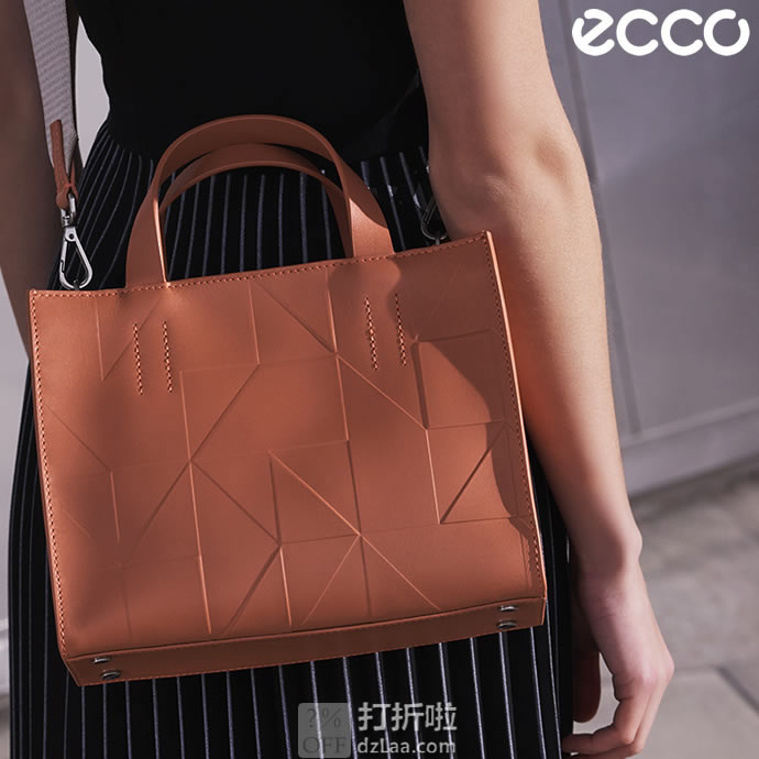 ECCO 爱步 GEOMETRIK MINI 女式手提包 2.1折$69 海淘转运到手约¥531