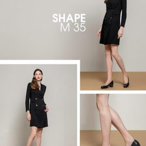ECCO 爱步 Shape 35 型塑35 女式中跟浅口单鞋 39码3.2折$41.99 海淘转运到手约¥374