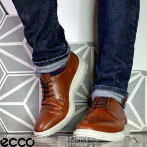 ECCO 爱步 ST.1 Hybrid Lite 适动混合轻巧系列 男式牛津鞋 44码¥435.33