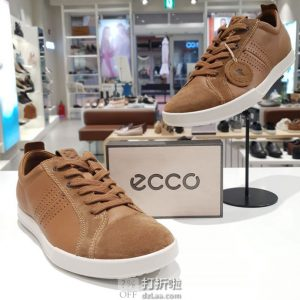 ECCO 爱步 Collin 2.0 科林2.0 男式休闲鞋 41码3.5折$52.5 海淘转运到手约¥447 国内¥1159