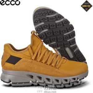 ECCO 爱步 Multi-Vent翱翔系列 GTX防水透气 男式户外休闲鞋 44码3.6折$90.88 海淘转运到手约¥707