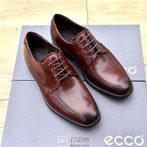 ECCO 爱步 Melbourne 墨本系列 男式系带正装鞋 ¥420.97