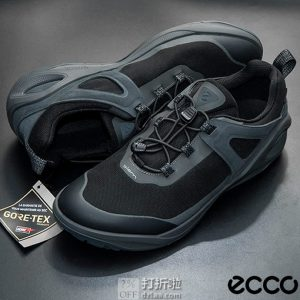 Prime会员福利 金盒特价 ECCO 爱步 Biom 2Go健步行走系列 GTX防水 男式户外徒步鞋 44码5.2折$83.9 海淘转运到手约¥655