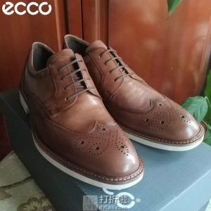 ECCO 爱步 Biarritz 里兹 男式布洛克鞋 牛津鞋 5.3折$64.03起 海淘转运到手约¥520
