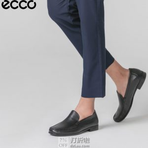 ECCO 爱步 DRESS MOC 一脚套 男式休闲鞋 44码5.2折$68.82 海淘转运到手约¥549