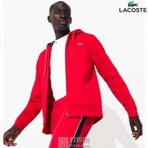Lacoste 法国鳄鱼 连帽男式卫衣 S码6.8折$60.74 海淘转运到手约¥451