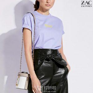 ZAC Zac Posen 扎克·珀森 Belay Mini 拼色单肩包 4折$109.24 海淘转运到手约¥758