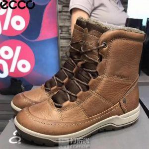 ECCO 爱步 Trace Lite 防水保暖 女式雪地靴 4.1折$81.86 海淘转运到手约¥701