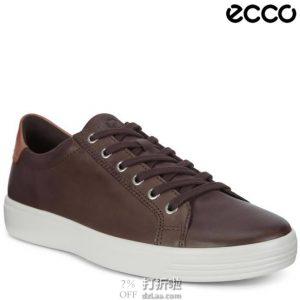 ECCO 爱步 柔酷系列 男式休闲板鞋 6.1折$60.89 海淘转运到手约¥489